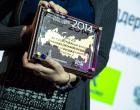 """Вручение награды победителям рейтинга """"Инновации в России-2014"""" в рамках международной премии Scopus Award (16.04.2014)"""
